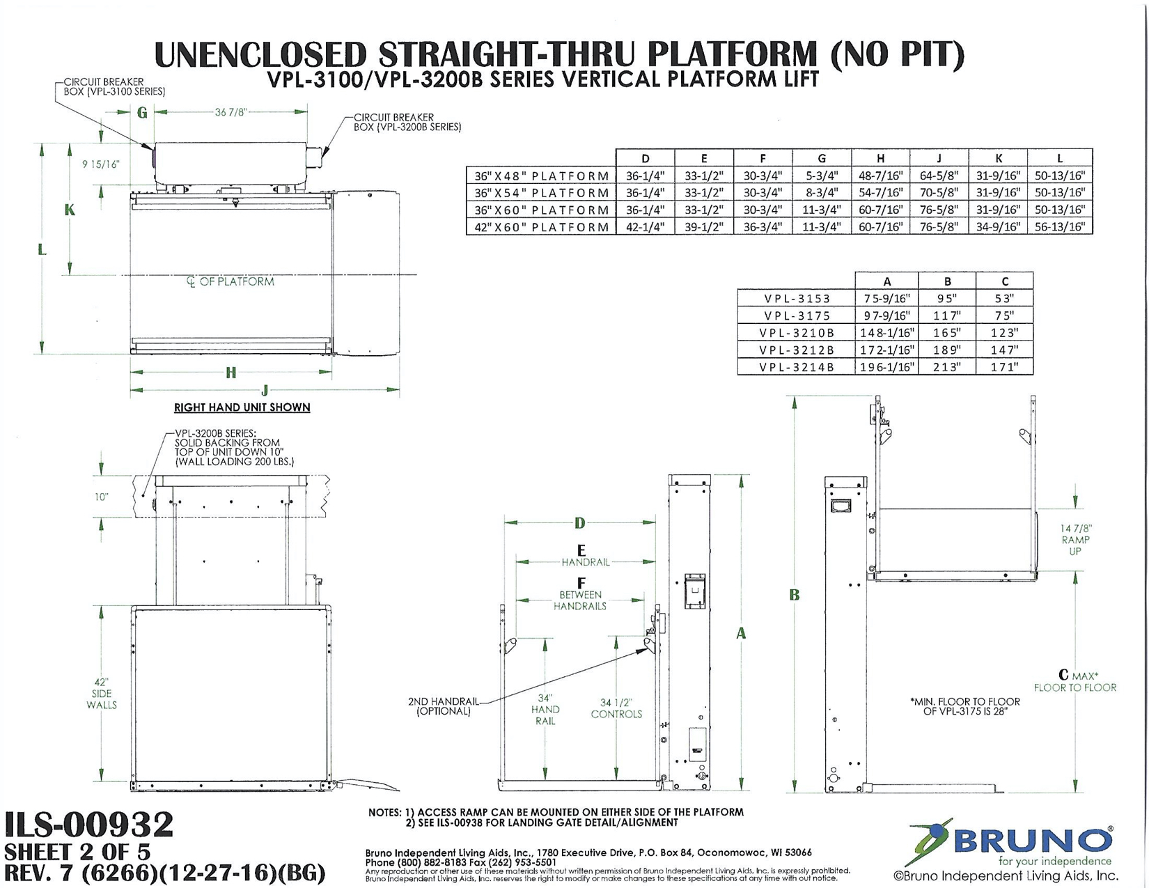 Download the Technical Specifications & Application Drawings PDFs