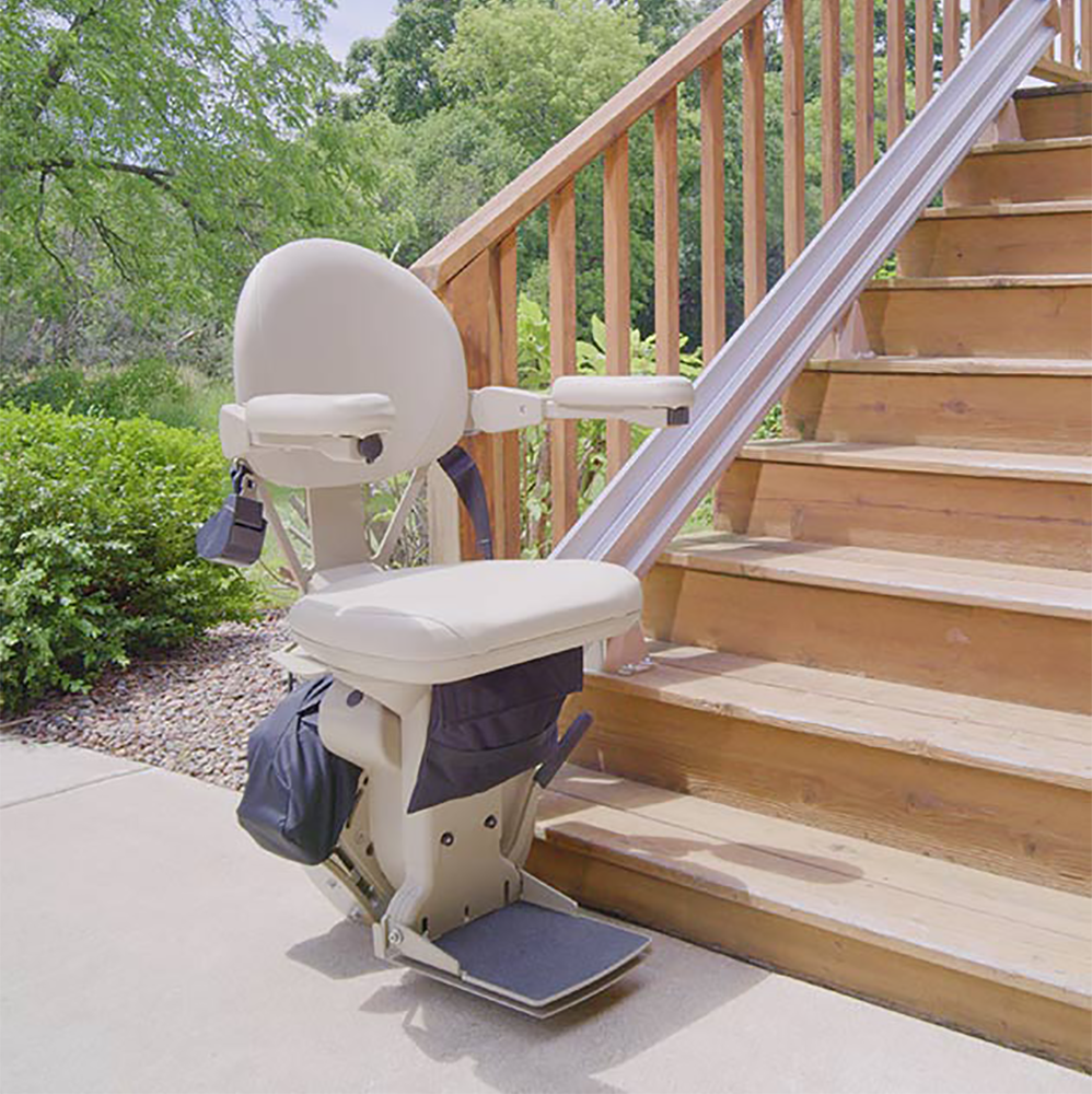 Bruno Elite Outdoor SRE-2010EChairlift for straight stairs