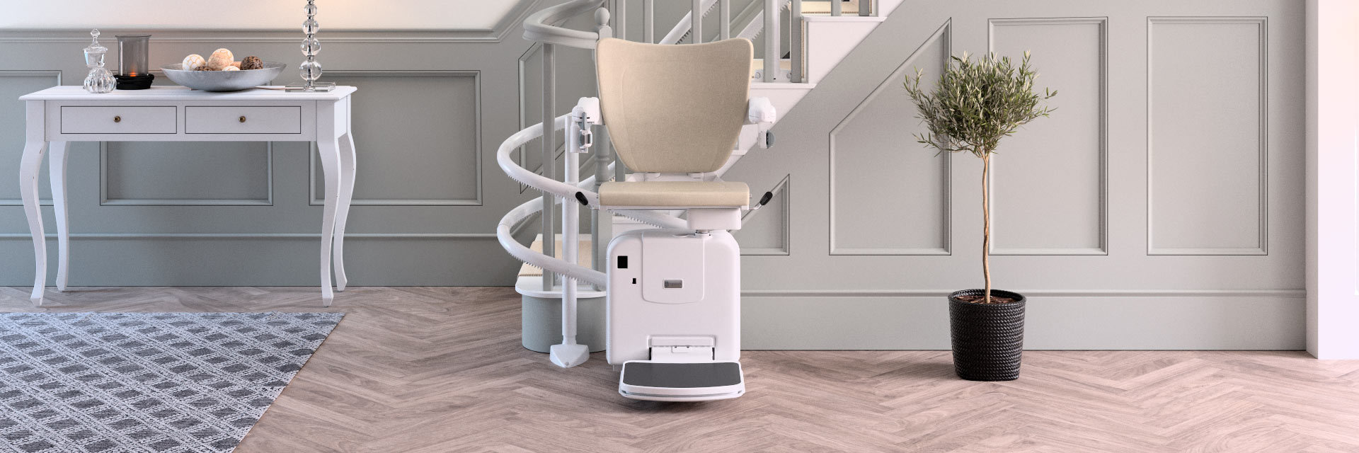 Handicare 2000Curved Stairlift