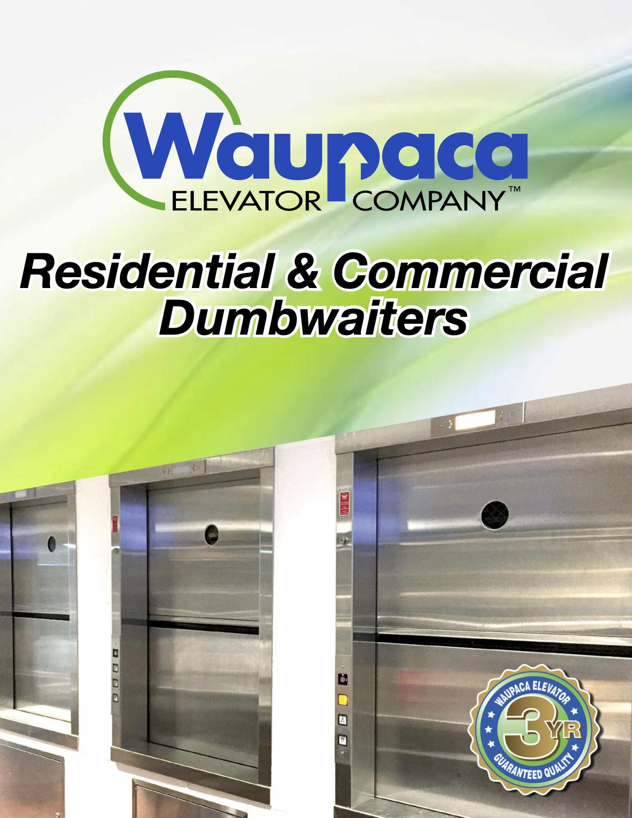 Waupaca Residential & Commercial Dumbwaiters