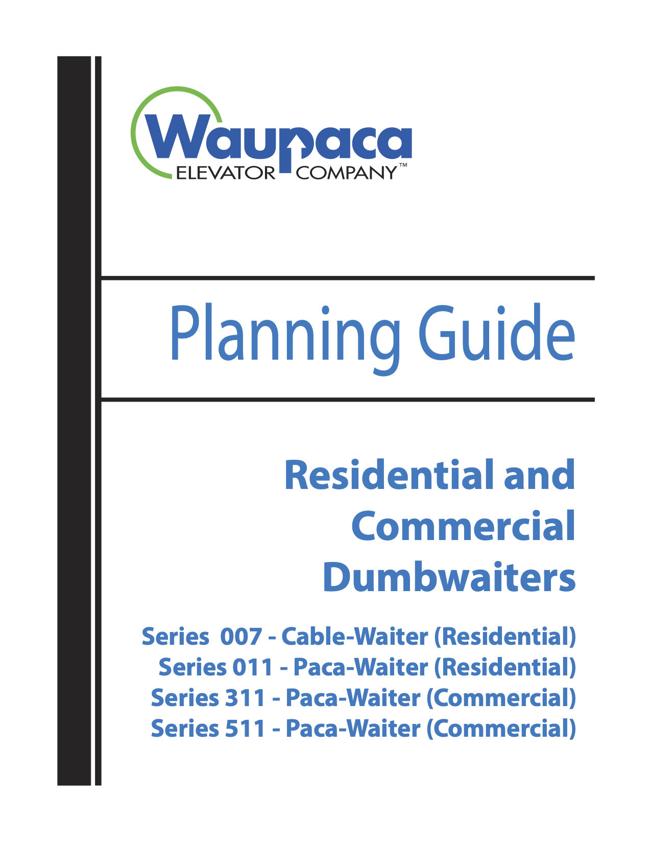 Brochure & Planning Guide PDFs