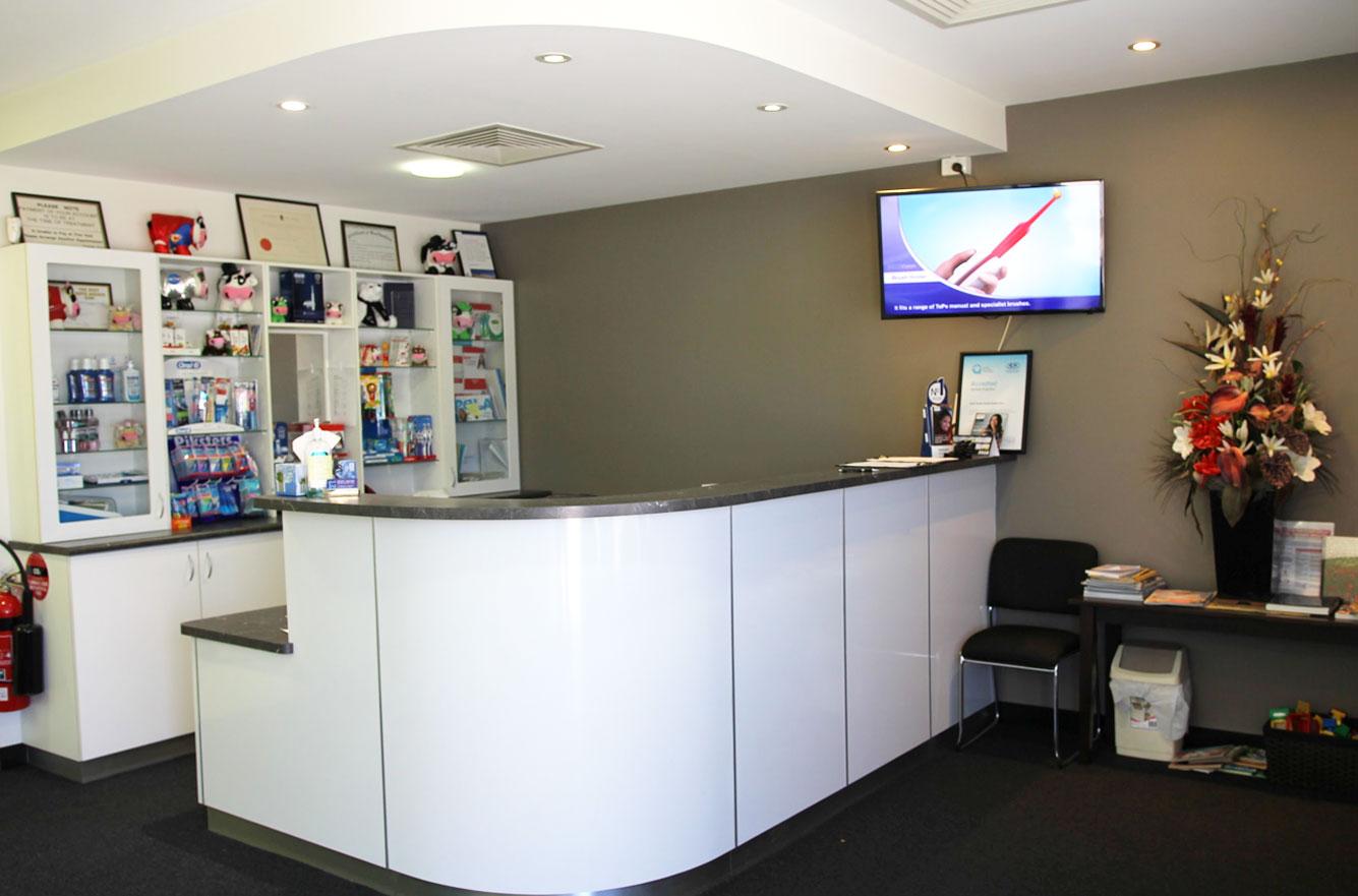 Golden Bay Dental Clinic Front Desk
