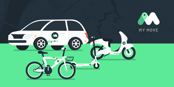 MyMove smart fleet solution for companies