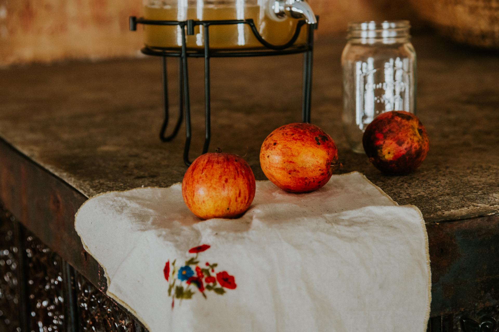 Zaplana sadje