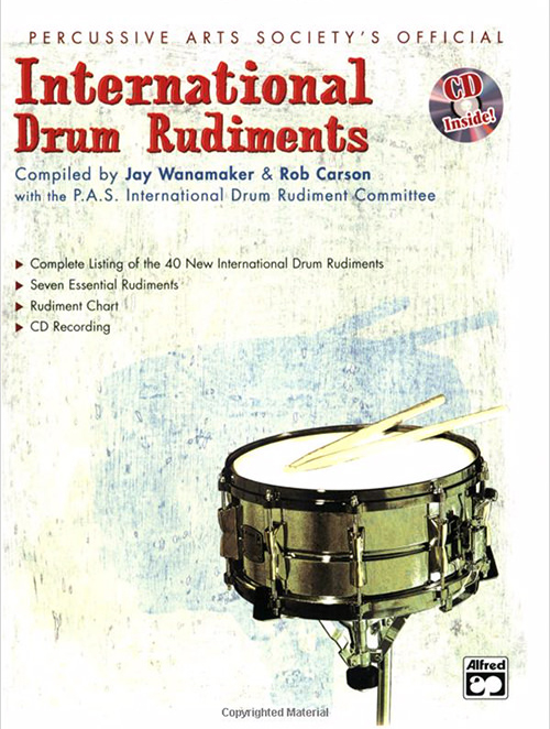 Percussive Arts Society's Official International Drum Rudiments
