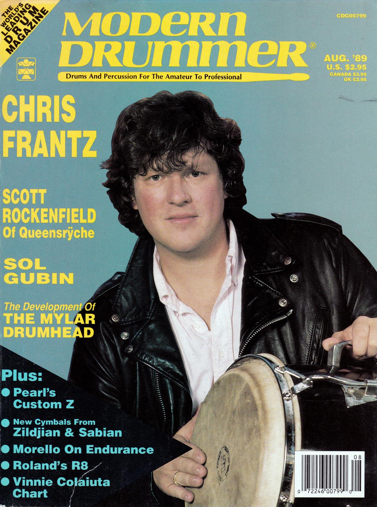 Modern Drummer August 1989