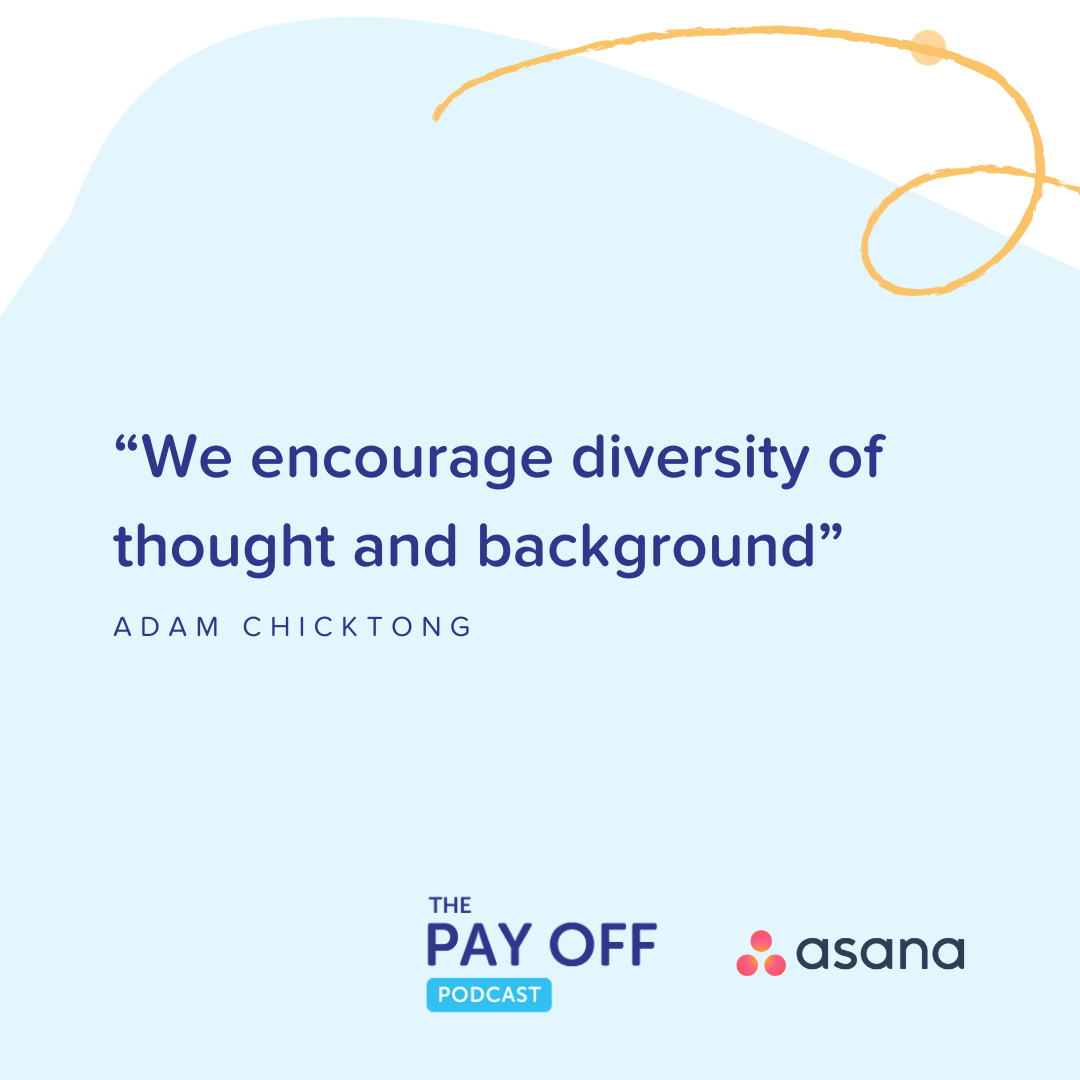 keypay pay off podcast asana diversity