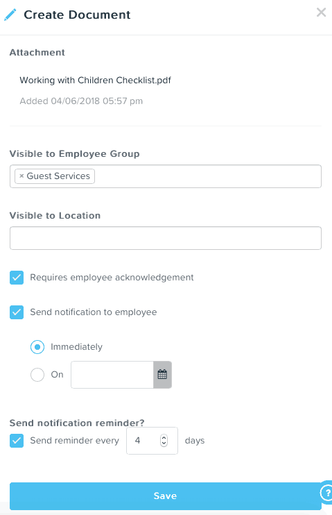 New permissions now added for Managers