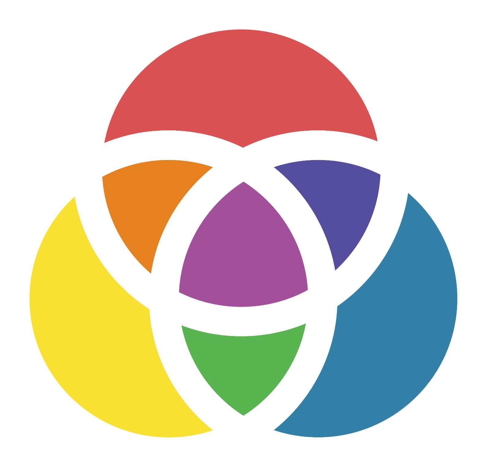 Responsival pinwheel logo