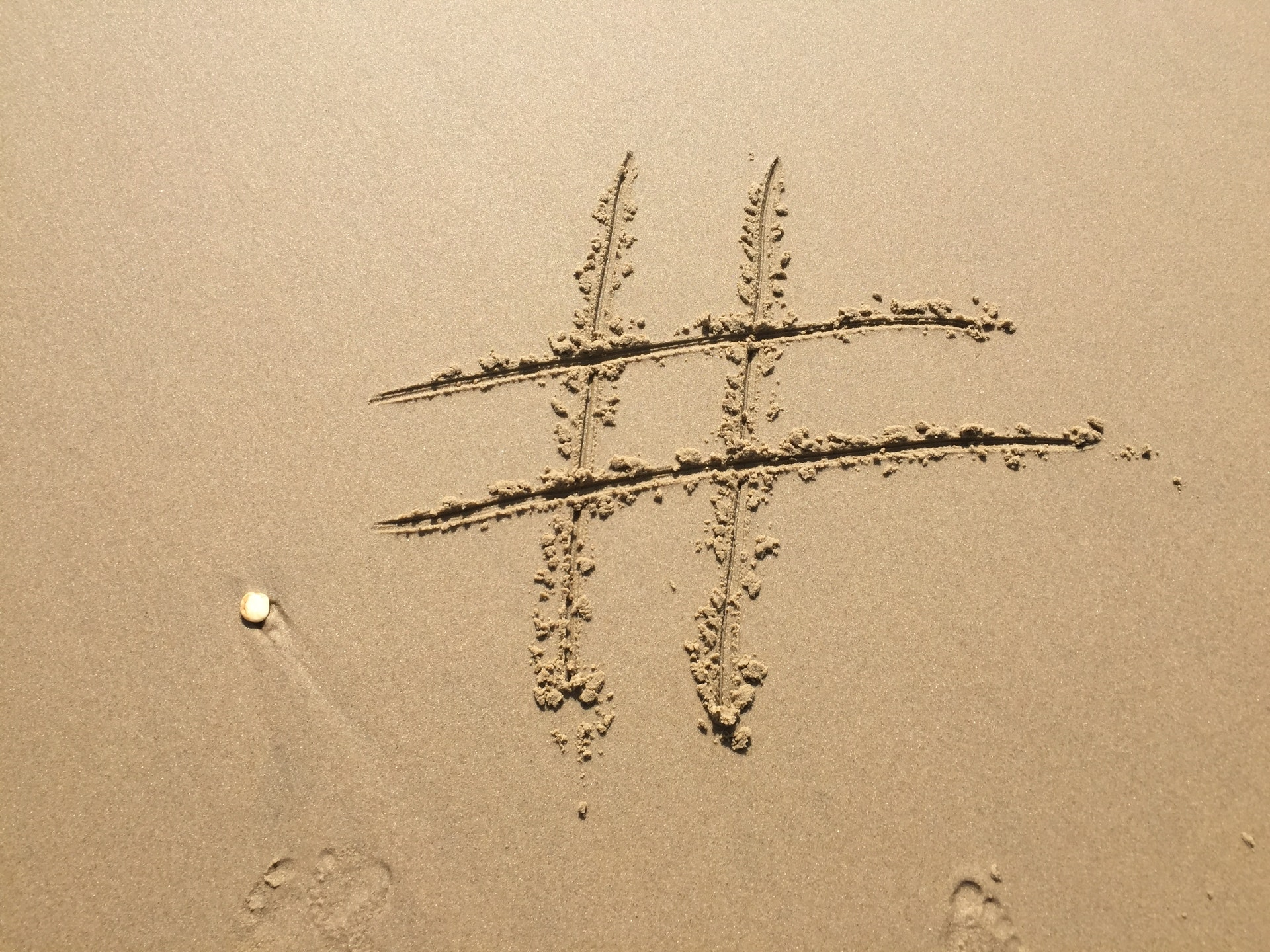 What's the deal with all the #hashtags?