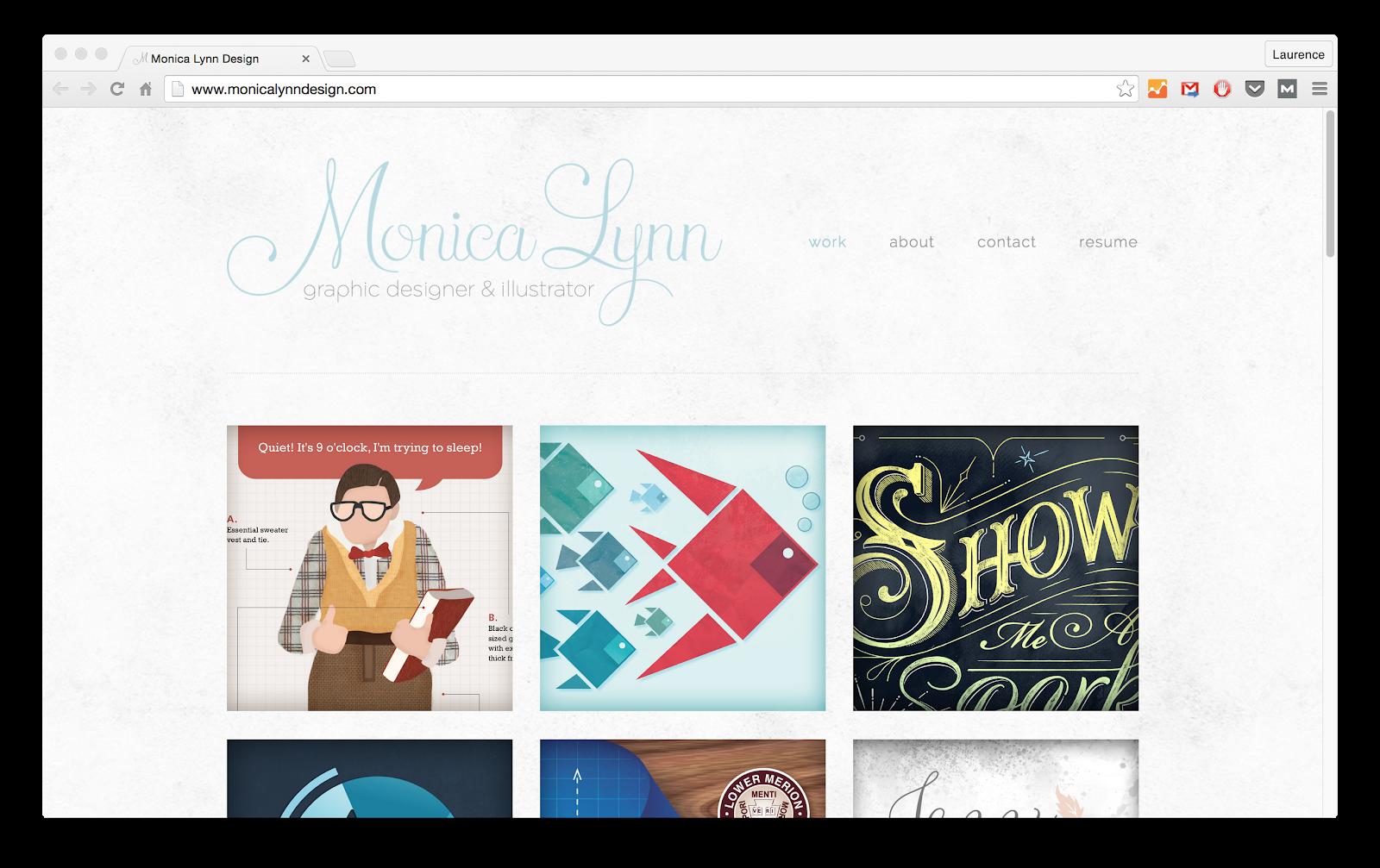 Online portfolio