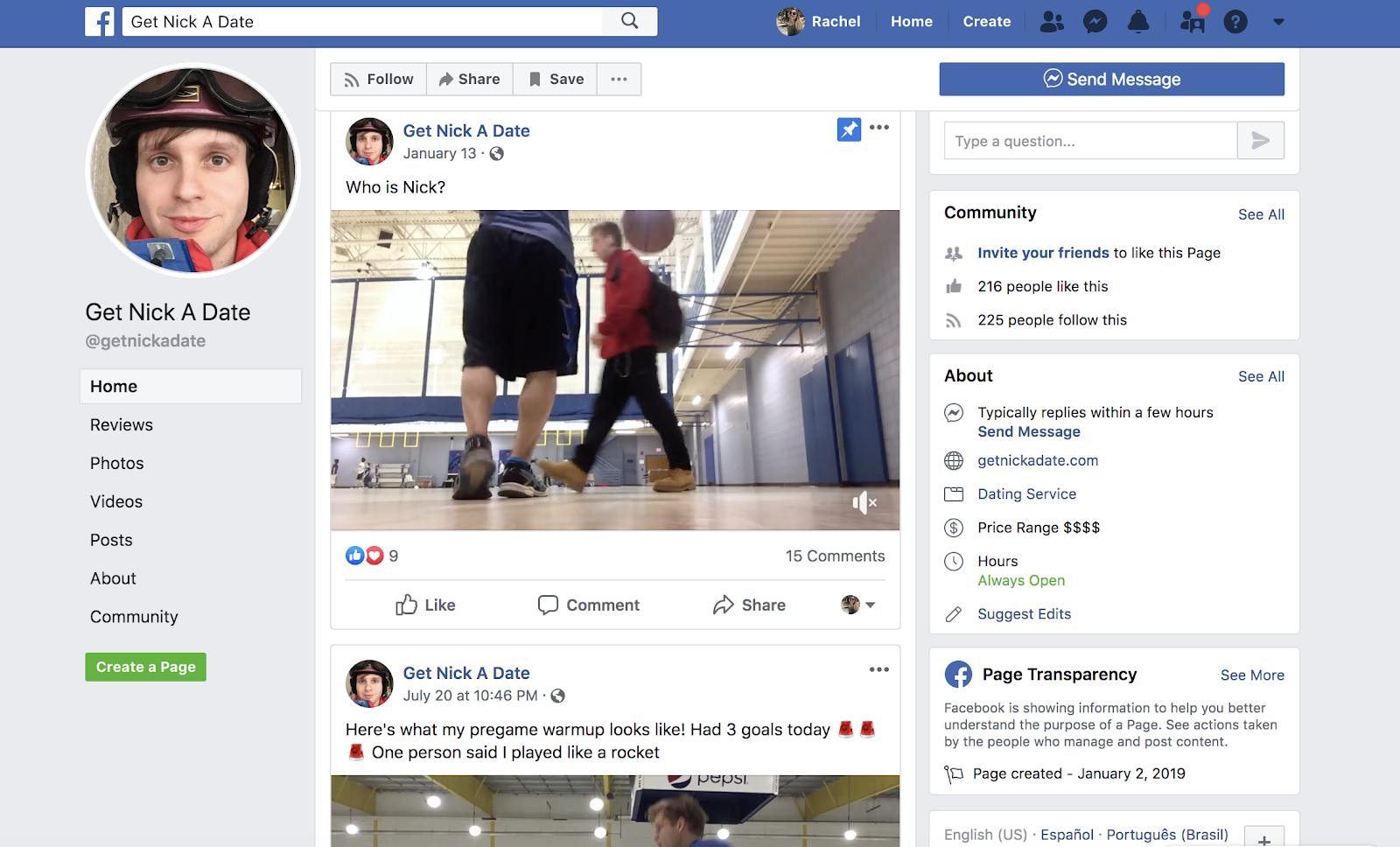 This Man is Using Facebook Ads to Find Himself a Date