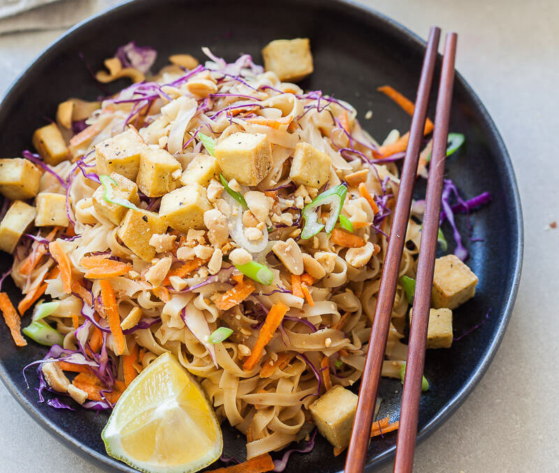 Try These Incredible 15-Minute Meals Tonight: Vegan Pad Thai