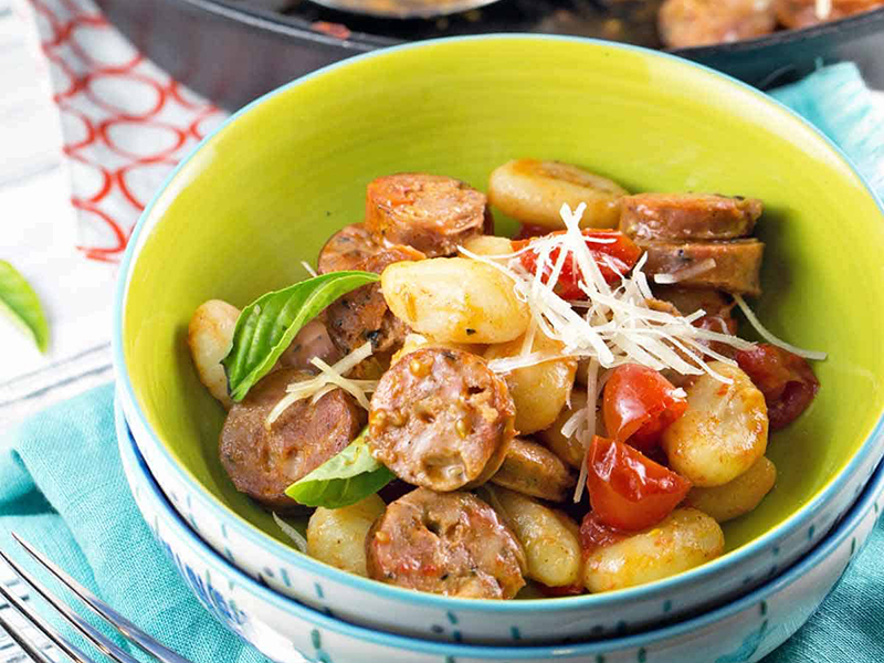 15 Quick Dinner Ideas: Cook a Full Meal in 20 Minutes - Gnocchi Skillet