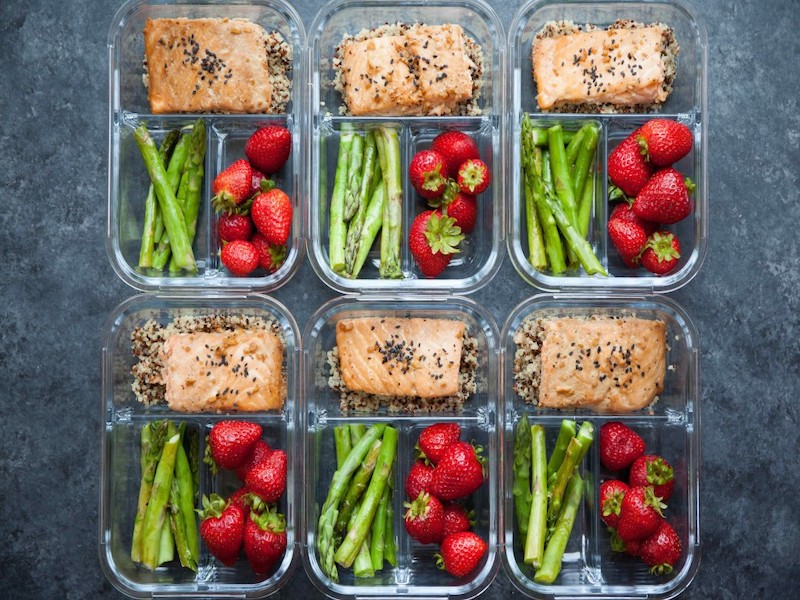 Clean Eating Meal Prep Ideas: Your Week Just Got Easier - Salmon Meal Prep