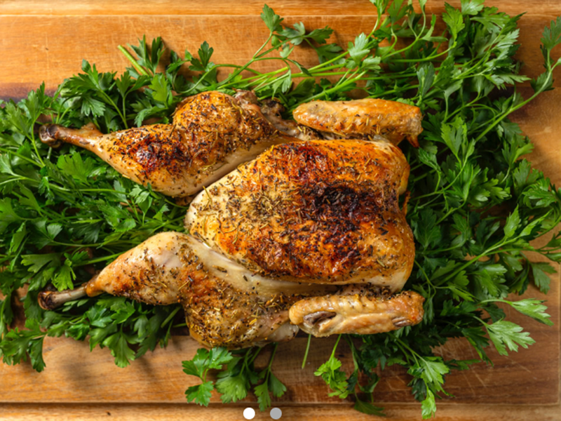 Easy Weeknight Dinner: Spatchcocked Chicken