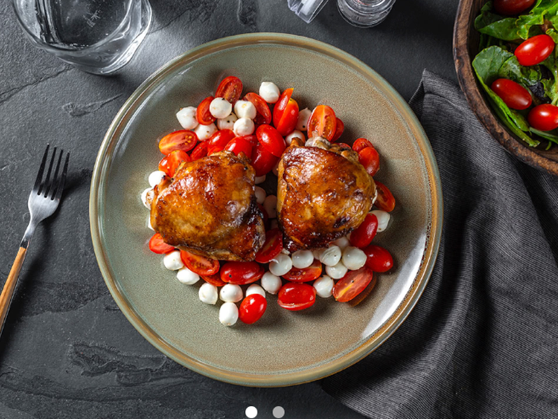 Easy Weeknight Dinner: Balsamic Glazed Chicken Thighs
