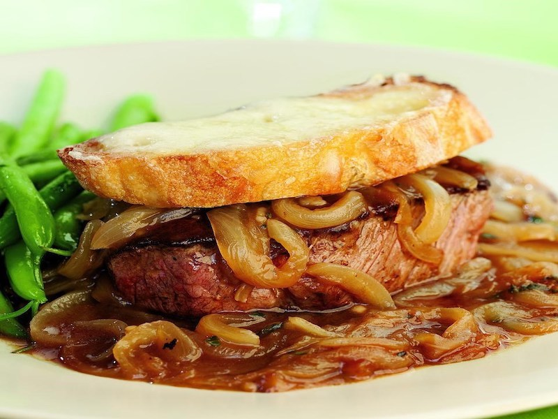 Dinner Ideas for Two: French Onion Beef Tenderloin