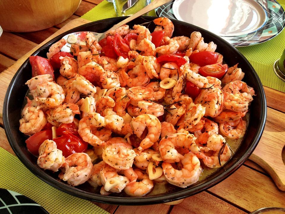 Easy Dinner Ideas for Two: Tuscan butter shrimp