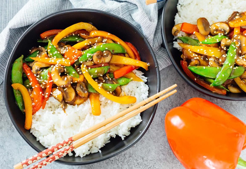 Easy Dinner Ideas for Two: Vegetable stir-fry