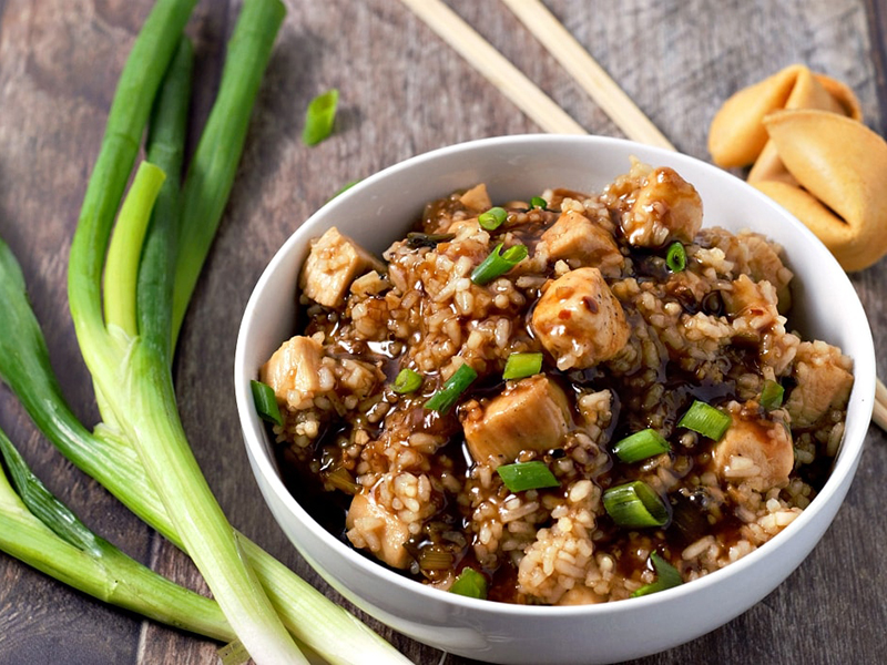 Healthy dinners for two: One Pan General Tso's Chicken