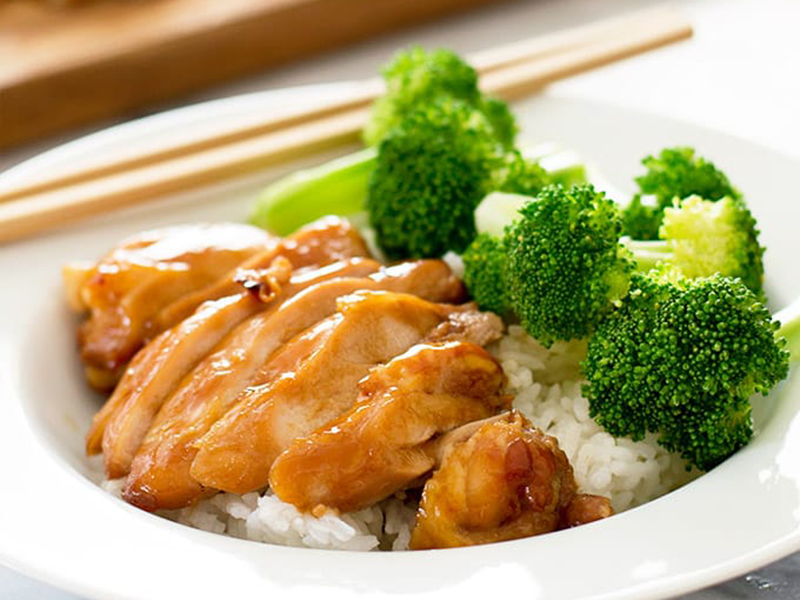 Healthy dinners for two: Easy Teriyaki Chicken