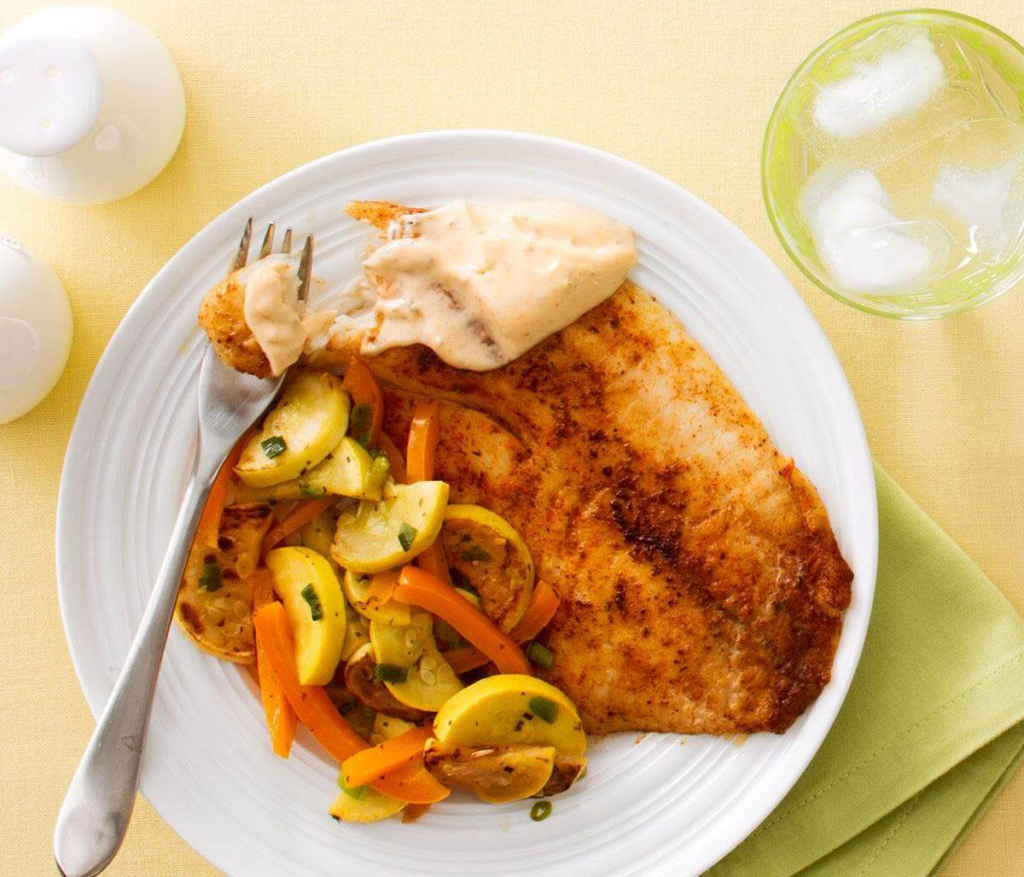 Healthy weeknight meals: Ancho Chili-Spiced Tilapia
