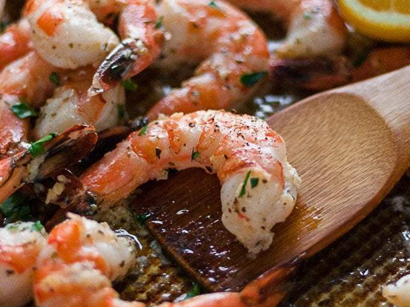 Simple Dinner Ideas: Sheet Pan Garlic Butter Shrimp and Green Beans