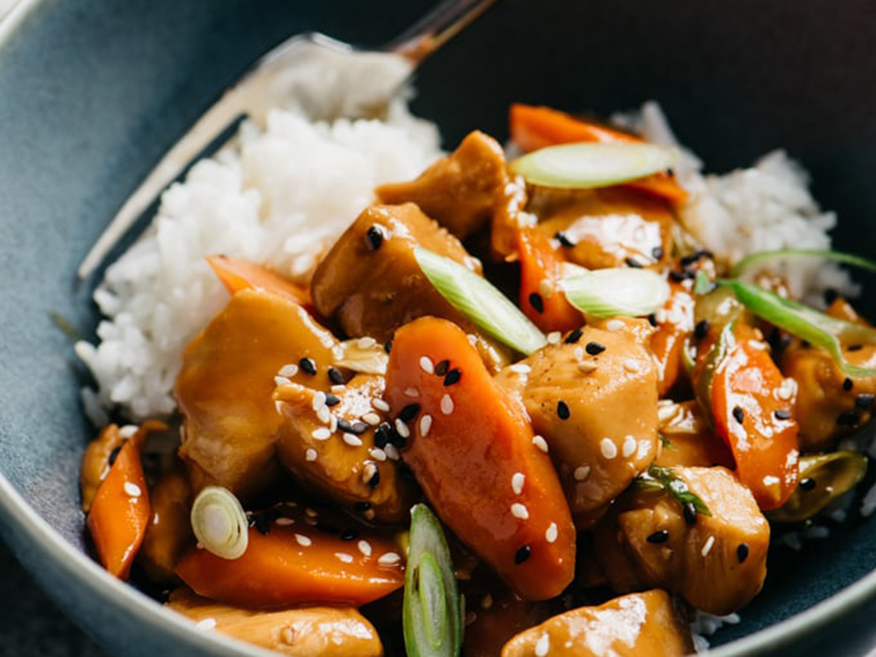 Simple Dinner Ideas: 20-Minute Honey Garlic Chicken