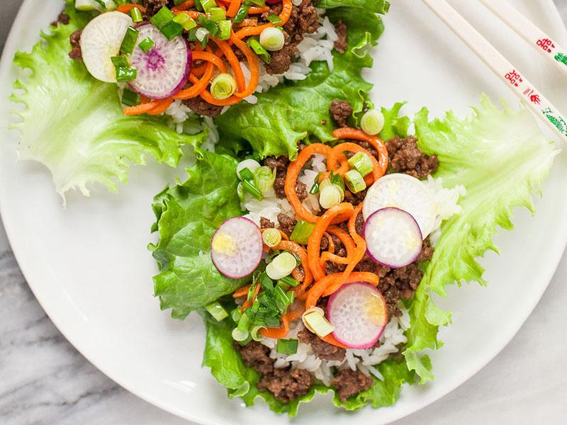 30-minute meals: Vietnamese Beef Lettuce Wraps