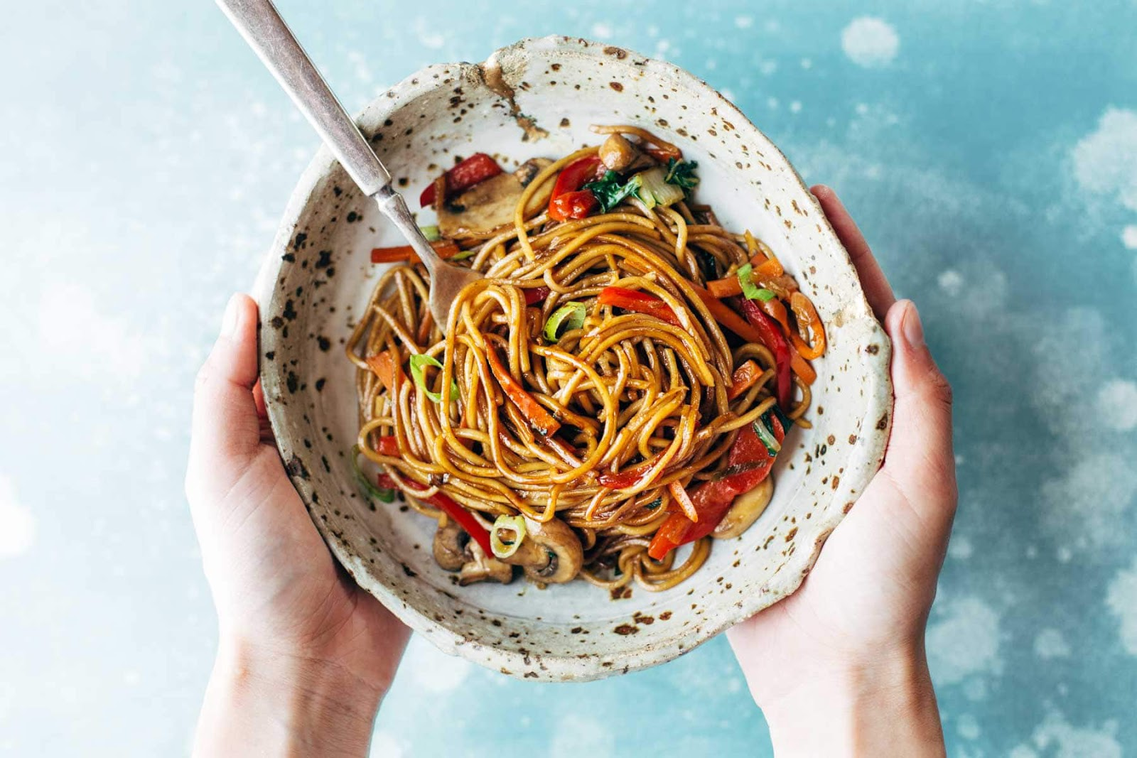 Easy healthy dinner recipes: 15 Minute Lo Mein