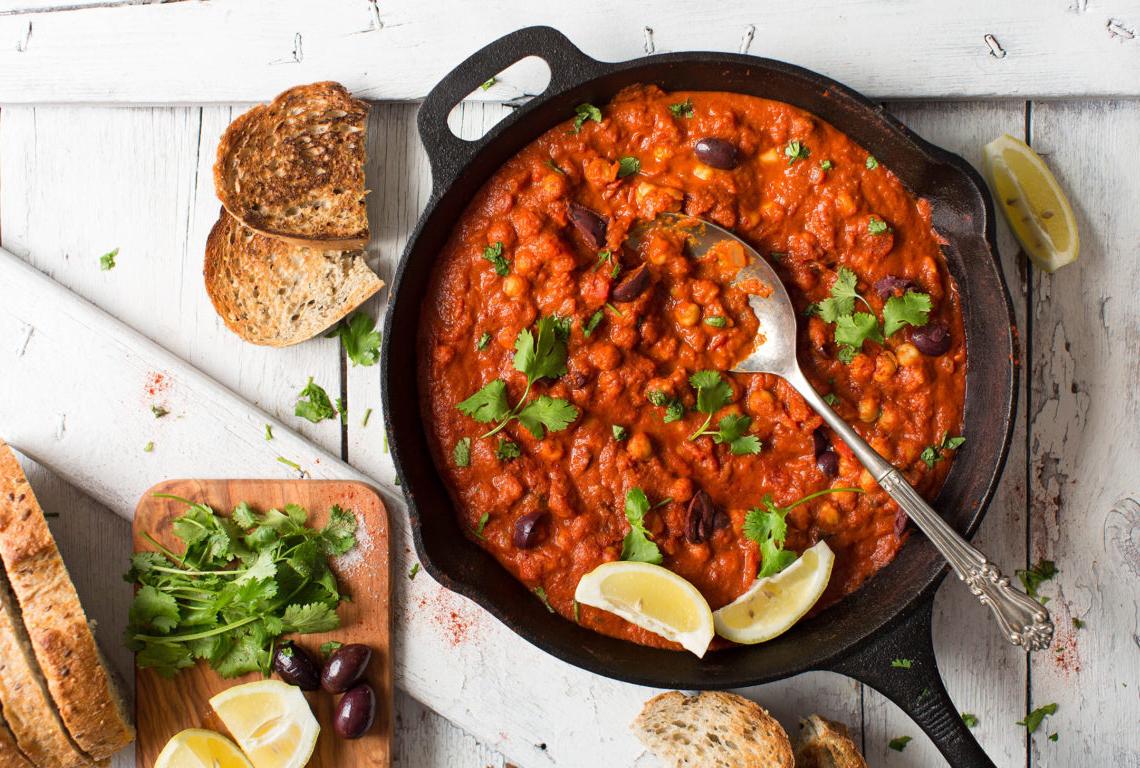 What to make for dinner: 1-Pot Chickpea Shakshuka