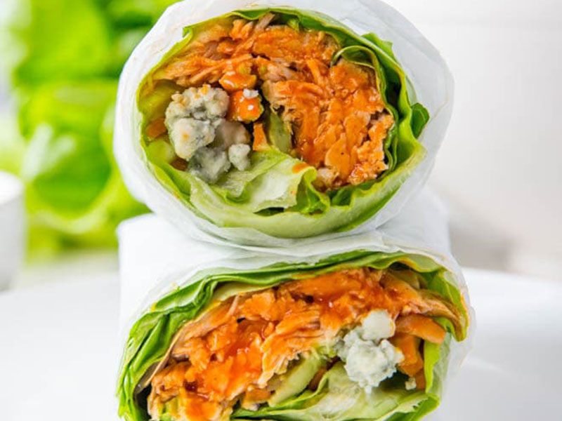 Chicken dinner ideas: Buffalo Chicken Lettuce Wraps