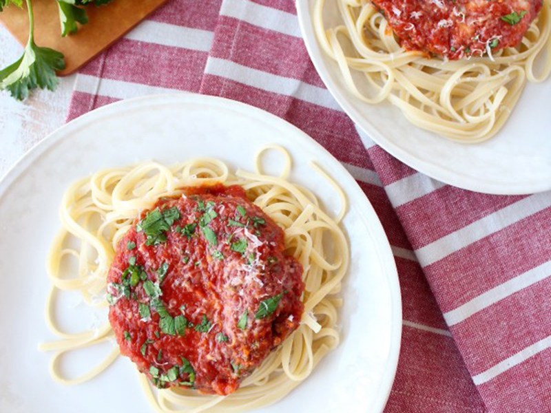Quick easy dinner: One Pot Eggplant Parmesan