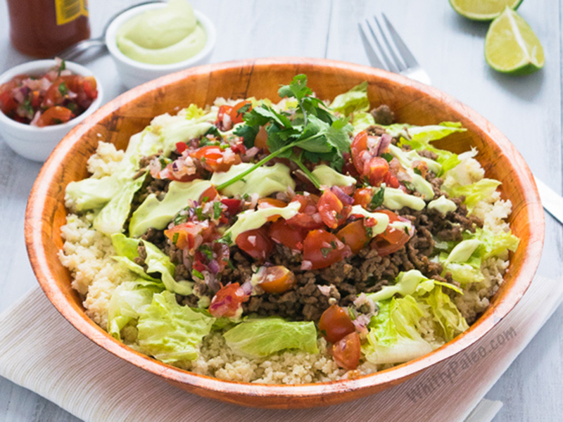 Quick easy dinner: Paleo Easy Mexican Burrito Bowls