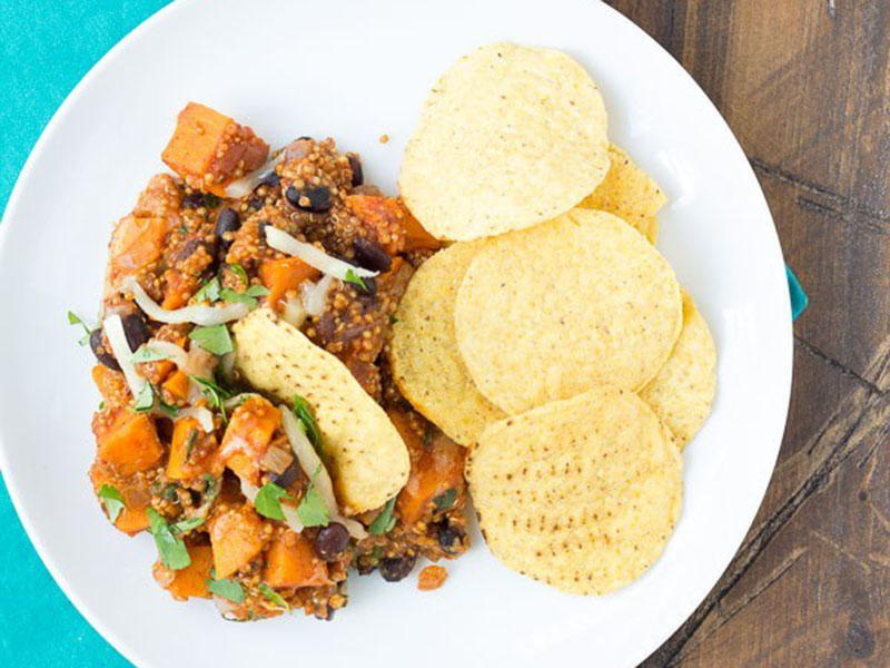 Healthy quick meals: Mexican Quinoa and Sweet Potato Skillet