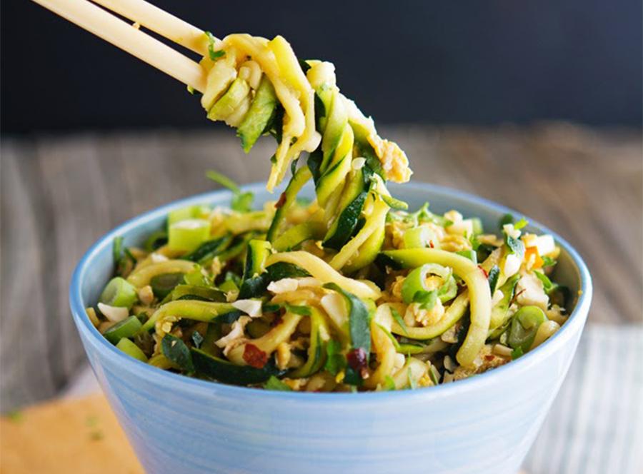 Low-calorie meals: Easy Pad Thai Zoodles