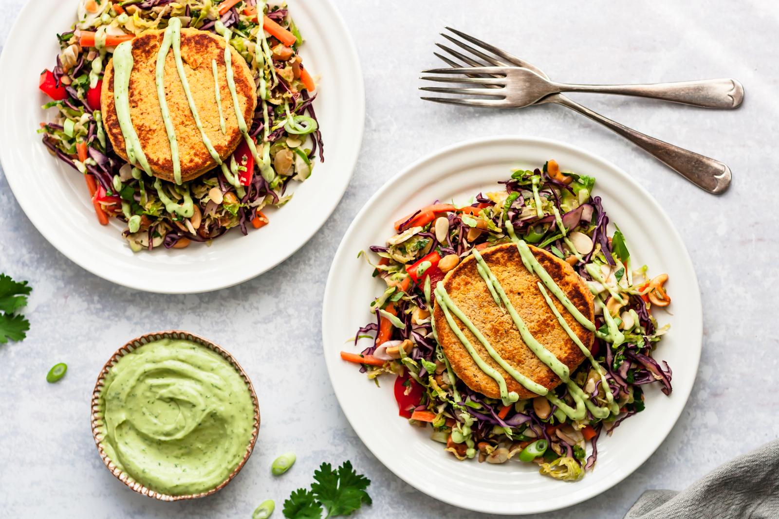 Low-calorie meals: 15-Minute Sweet Potato Salmon Cakes