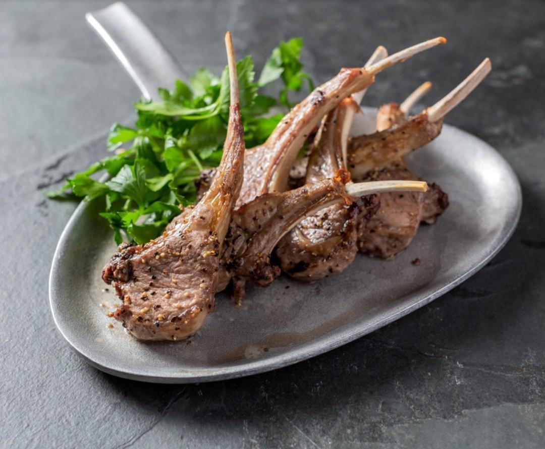 500-calorie meals: Lamb Chops