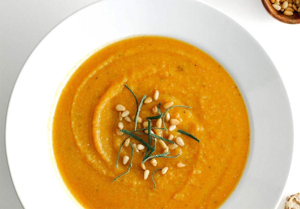 500-calorie meals: Butternut Squash & Red Lentil Soup