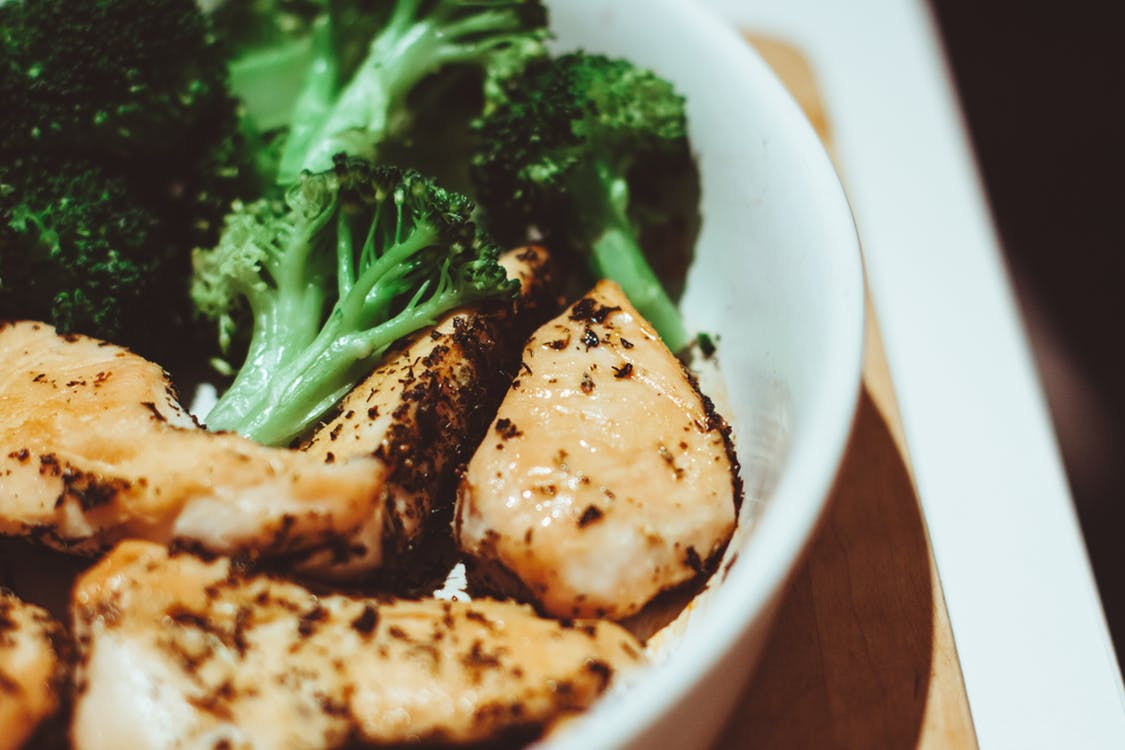 Low-carb, high-protein recipes: Chicken and Broccoli