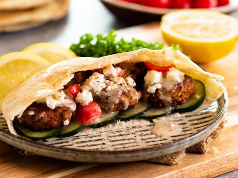 Vegetarian meal plan: Homemade Falafel