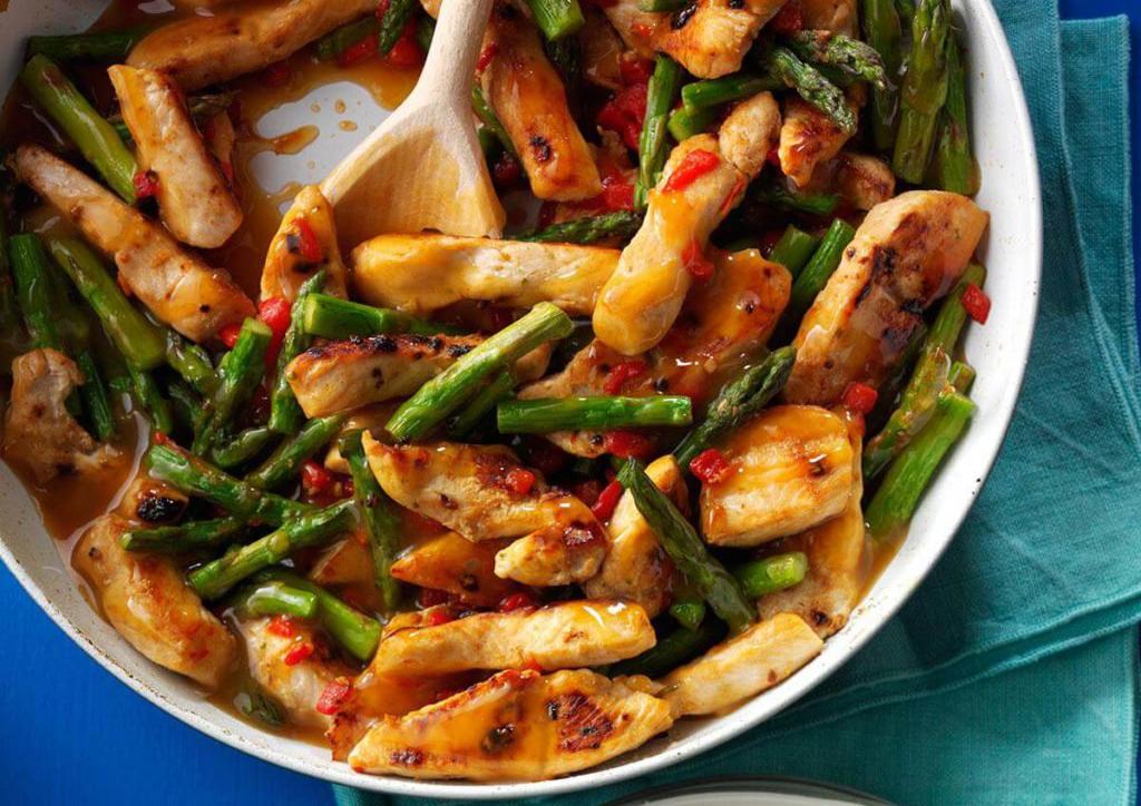 Heart-healthy meals: Asparagus Turkey Stir-Fry