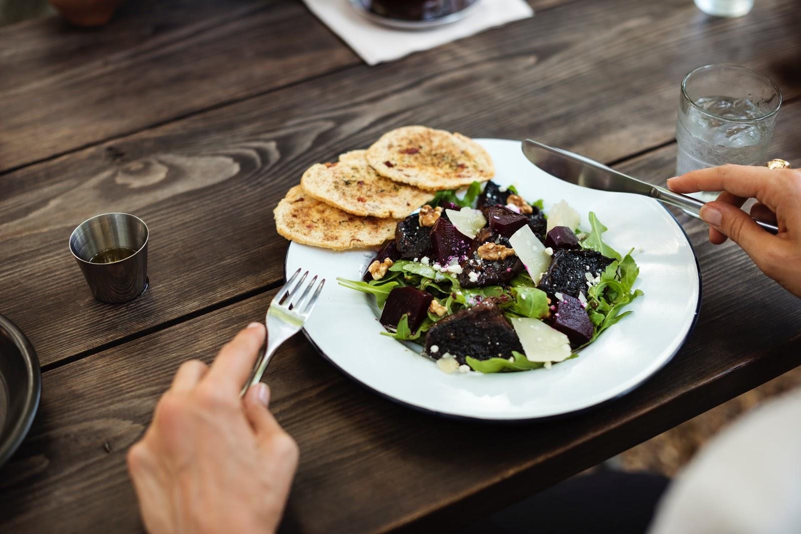Heart-healthy meals: a beet salad