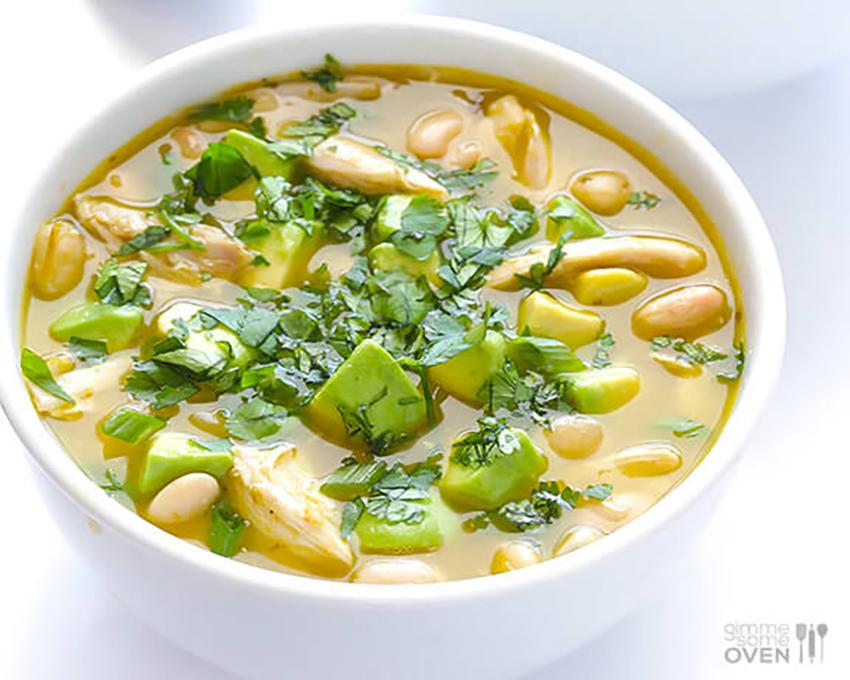 Heart-healthy meals: 5-Ingredient White Chicken Chili