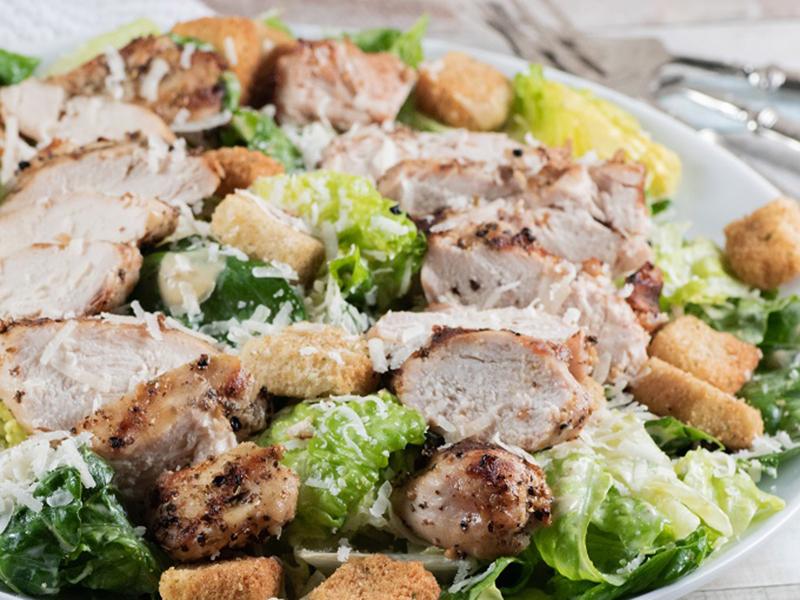 Easy chicken dinners: Grilled Chicken Caesar Salad
