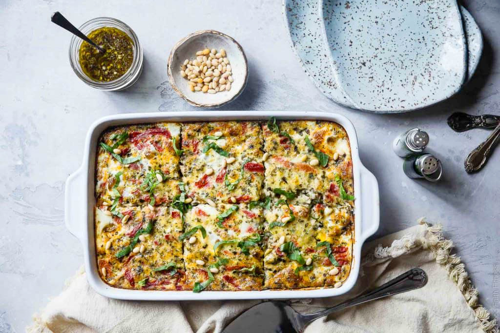 Easy low-carb meals: Easy Low-Carb Keto Breakfast Casserole With Sausage