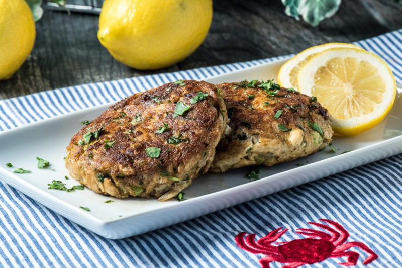 Easy low-carb meals: Low-Carb Crab Cakes
