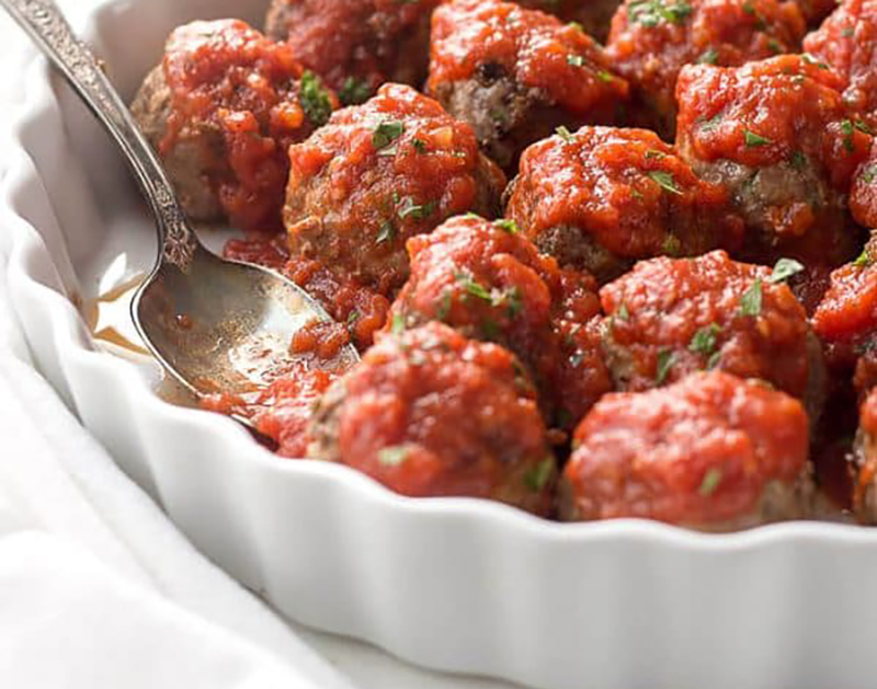 Easy low-carb meals: Mom's Low-Carb Meatballs