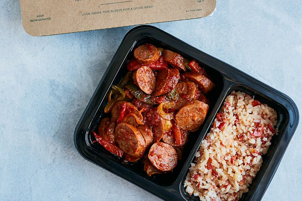 Prepared meals delivered: a Freshly meal
